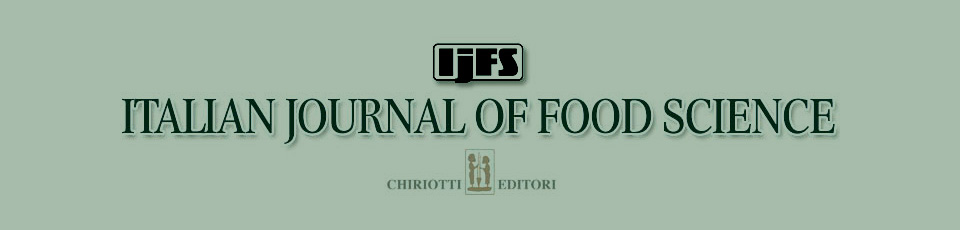 Italian Journal of Food Science